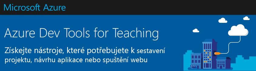 microsoft Azure dev tools for Teaching